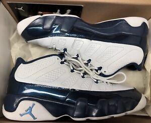 d5e63901c630 2002 Jordan Retro IX 9 Low Blue Pearl White 303895-142 Sz 9