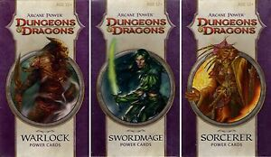Dungeons-amp-Dragons-Arcane-Power-POWER-CARDS-Spellcast-Bundle-Neu-New-very-rare