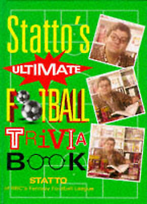"""AS NEW"" Statto, ""Statto's"" Ultimate Football Trivia Book Book"