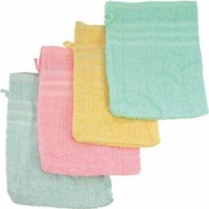 Waschhandschuh-Einzeln-oder-im-5er-Set-Waschlappen-Baby-NEU