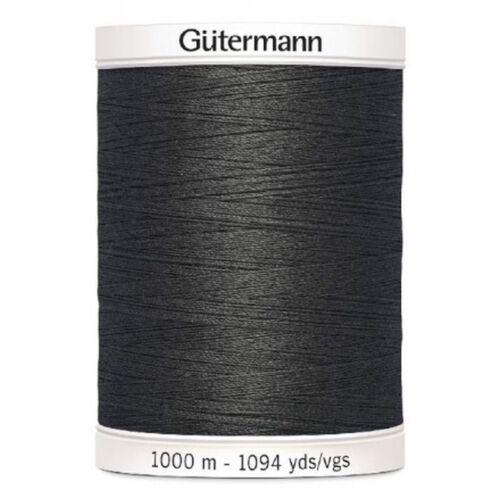 036 antracita 100 FB 1000 m Gütermann todos más cerca para todas las sustancias y suturas No