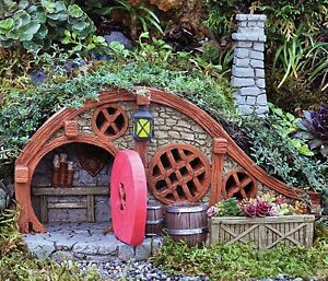 Image Is Loading FiddleHead Fairy Garden RED ROOT BUNGALOW Fairy House
