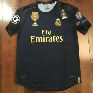 Details about Adidas Real Madrid 2019/20 Away #18 Luka Jovic Jersey Champions League Version