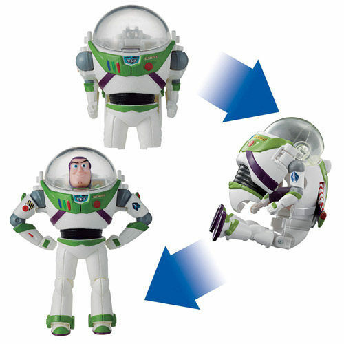 TRANSFORMERS EGG DISNEY TOY STORY BUZZ LIGHTYEAR ACTION FIGURE BD39462