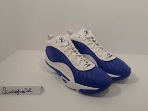 dfe52f59749ce6 Reebok Answer III 3 Allen Iverson I3 size 12 White Royal Blue DMX ...