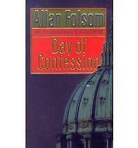 """""""AS NEW"""" Day Of Confession, Folsom, Allan, Book"""