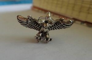 Sterling-Silver-3D-Small-11x20mm-Open-Wings-Eagle-Bird-Charm