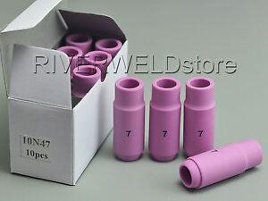 10N47-7-TIG-Alumina-Cup-Nozzles-Fit-SR-PTA-DB-WP17-18-26-TIG-Welding-Torch-10PK
