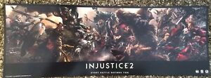 Details about Injustice 2 Poster DC Comics Justice League 24x9 Netherrealm  Studios Warner Bros