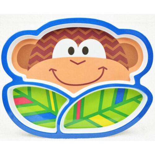 Baby Feeding Bowl Cartoon Animal Owl Monkey Butterfly Shaped Dinnerware ONE