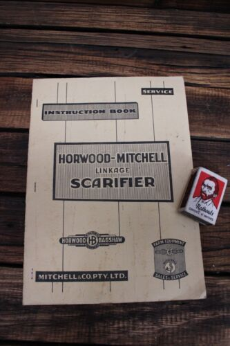 Vintage HorwoodMitchell Linkage Scarifier Instruction Book Tractor Farm Bagshaw
