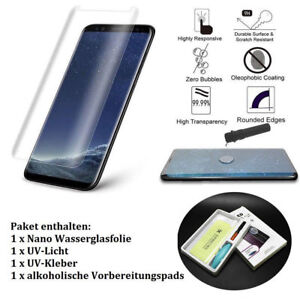 Details about Tempered Glass Nano Invisible Liquid Screen Protector For  Samsung Galaxy S8 S9