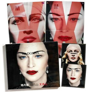Madonna-Madame-X-Taiwan-CD-BOX-Folded-Double-sided-Poster-2-Sticker-2019-NEW
