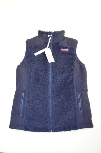 Xs Vines Womens Reversible 148 Size Sherpa Vest Msrp Vineyard Nwt 0qfw1v0