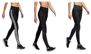 NEW-adidas-Womens-3-Stripe-Active-Tights-Leggings-VARIETY
