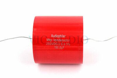 Audiophiler MKP Kondensotor 250VDC 33UF Capacitance 33.0UF 3/% Audio Capacitor