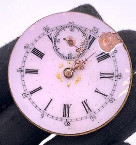 Unknown-Main-Manuel-Vintage-41-mm-Pas-Fonctionne-pour-Pieces-de-Poche-Watch
