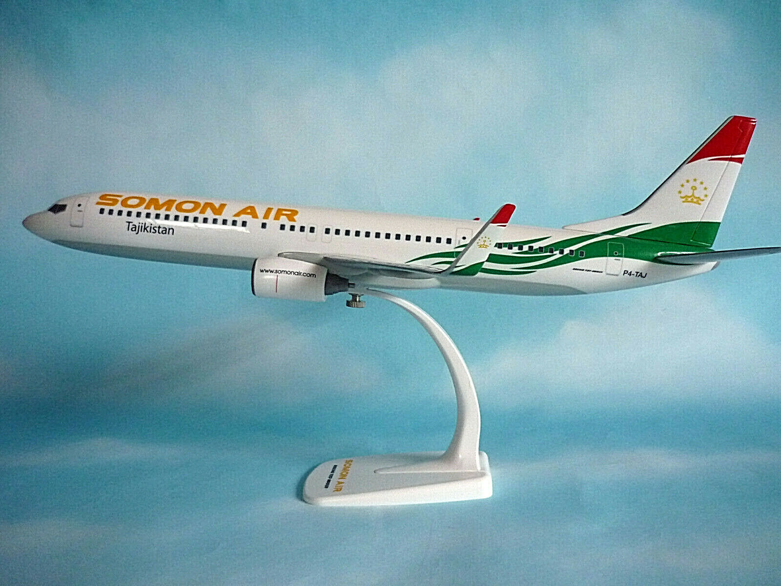 Herpa Wings 1 100 Boeing 737-900ER Somon Air P4-TAJ 609241