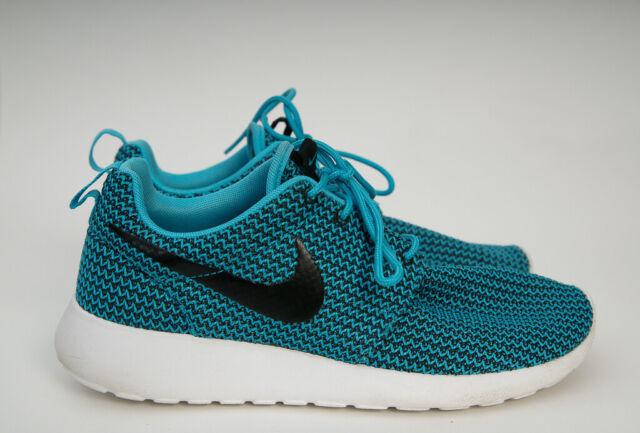 mamífero Farmacología Judías verdes  WMNS Nike Roshe One Flyknit Rosherun Blue Black Womens Running Shoes  704927-403 UK 4 for sale | eBay