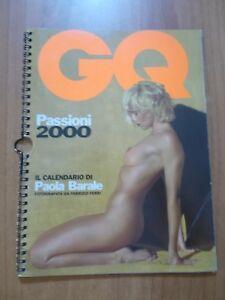Calendario Gq.Calendario Gq 2000 Paola Barale Ebay