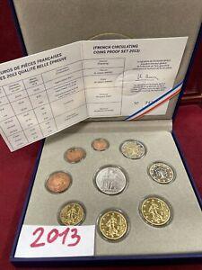 COFFRET BE FRANCE 2013 MONNAIE DE PARIS  NEUF  7500 Ex