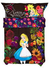 Alice in Wonderland Garden Bedding Microfiber Comforter Blanket - Full/Queen