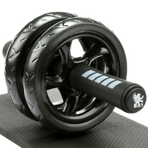 Addominali-Esercizio-Rullo-Corpo-Fitness-Forza-Formazione-MACCHINA-ABS-RUOTA-GYM