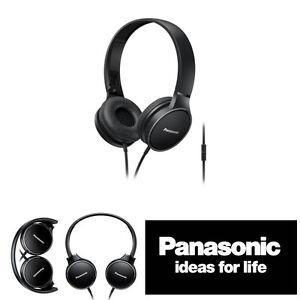 Panasonic-rp-hf300m-Externos-Comodo-DJ-Plegable-Auriculares-con-en-Linea-Micro