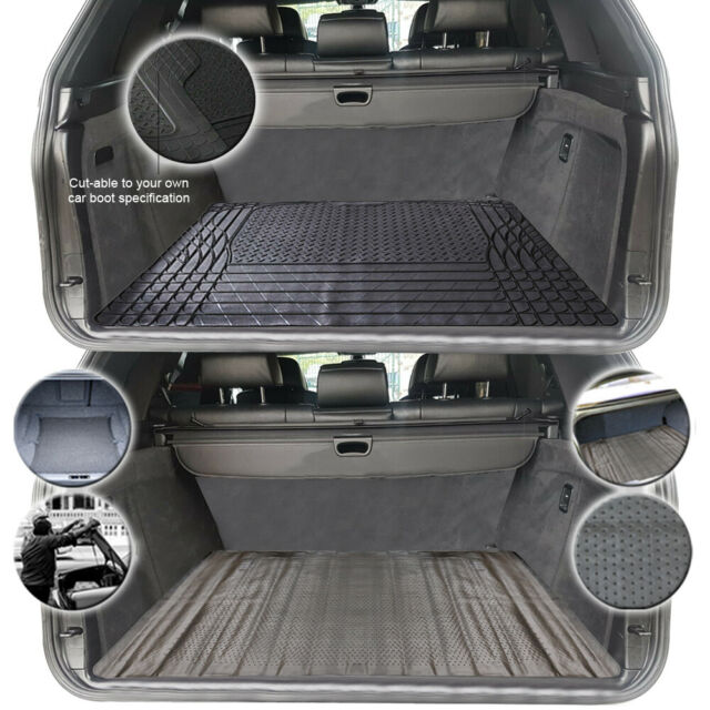 Large Heavy Duty Rubber Car Boot Liner Mat fits Kia Rio