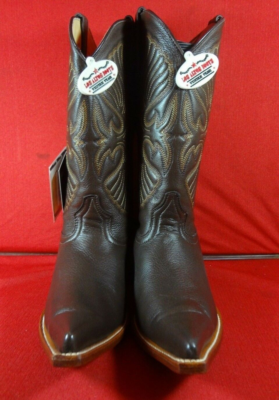 Men's  Leather DEER Western Cowboy Boots C104