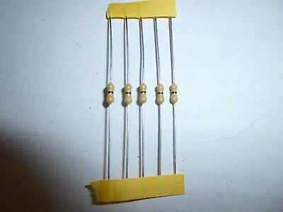 120K Ohm 1//4 Watt Carbon Film Resistor 5 Pieces Prime Parts US Seller Free S/&H