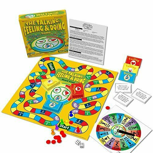 Fun & Therapeutic Kids Psychotherapy Game Perfect for Mental Health Counselors
