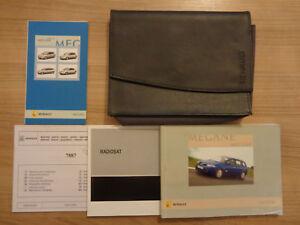 renault megane owners handbook manual and wallet 06 09 ebay rh ebay co uk renault megane owners manual 2005 renault megane owners manual 2016