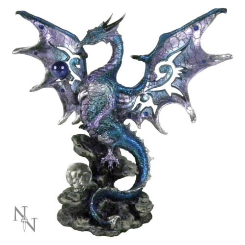 Blue Dragon Protector Statue