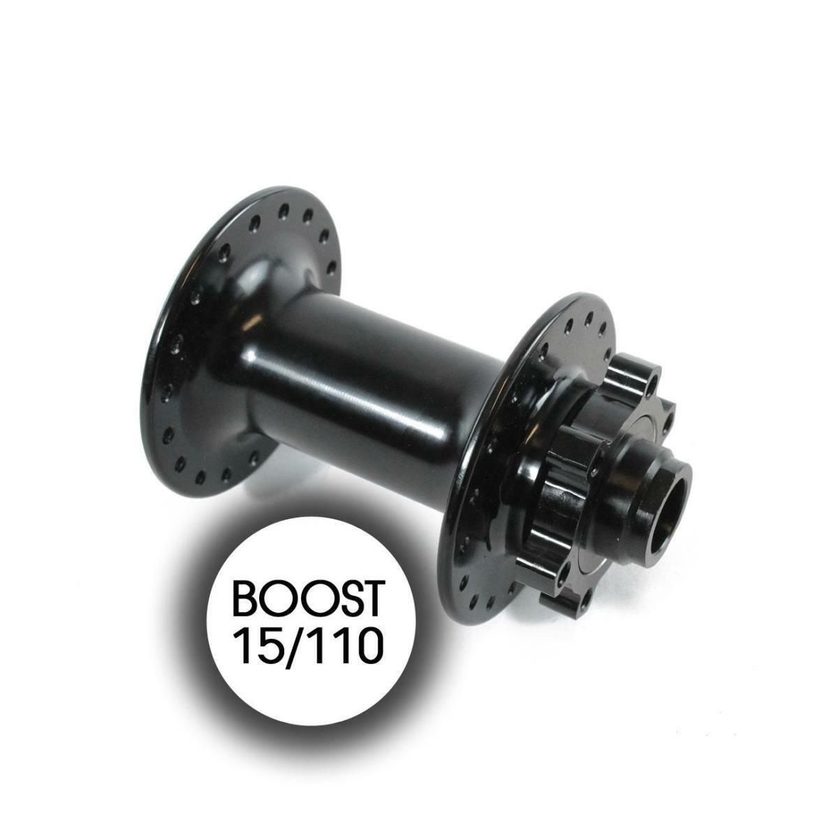 Mozzo anteriore 36h boost 15 110mm disco schwarz MZBO1510 RIDEWILL BIKE Mozzi mtb