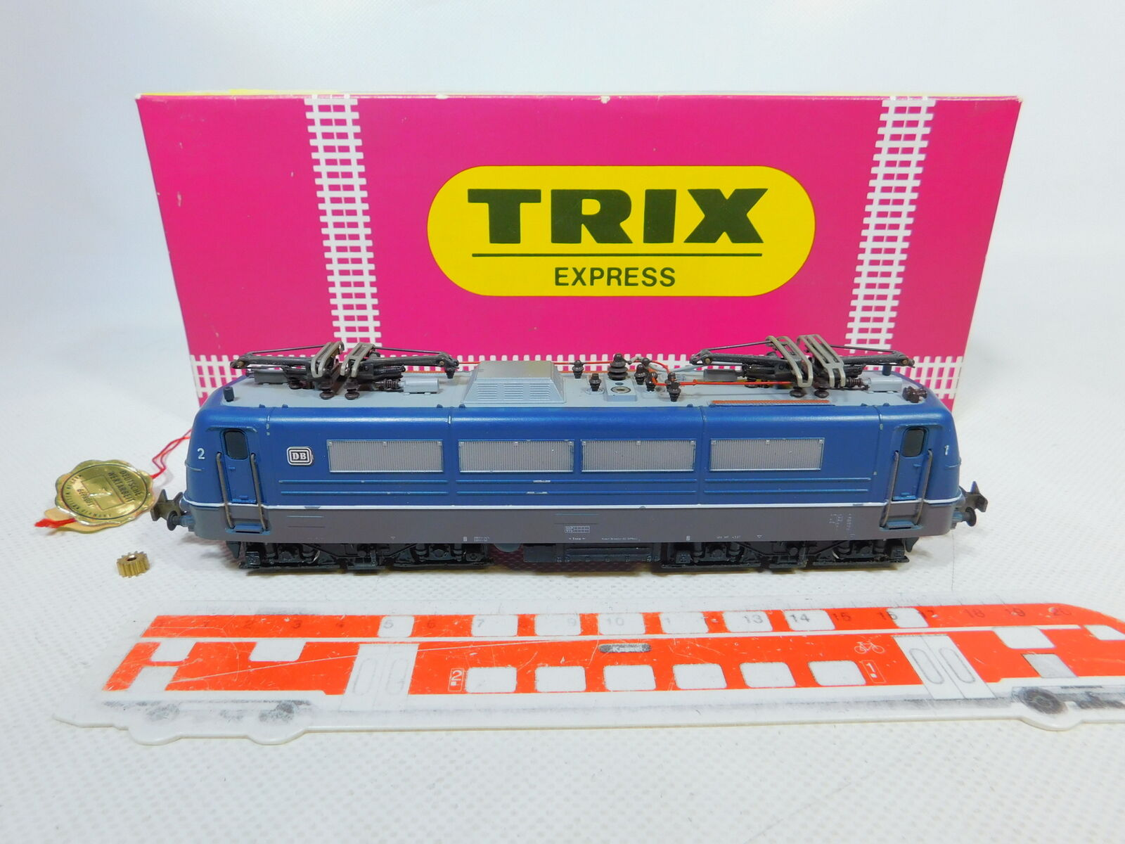 Bz164-1 Trix International H0 Dc 2247 Bastler-E-Lokomotive 184 003-2 Db, Ovp