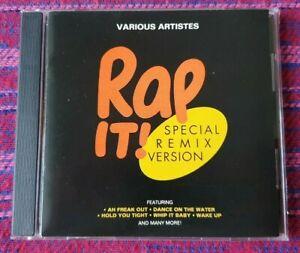 Various-Artist-Rap-It-VSP-Malaysia-Press-Cd