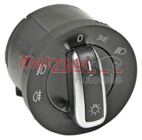 METZGER Schalter Hauptlicht GREENPARTS für Fahrzeuge ohne Coming-Home-Funktion