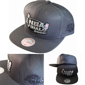 pretty nice 349f9 2c630 Image is loading Mitchell-amp-Ness-Los-Angeles-Lakers-Dark-Grey-