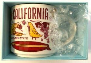 Starbucks Been There Series Across The Globe Collection California Mug 14 Fl Oz