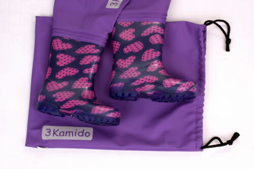 Kids chest waders 3KAMIDO PRO durable suspenders 10 models Fishing boots
