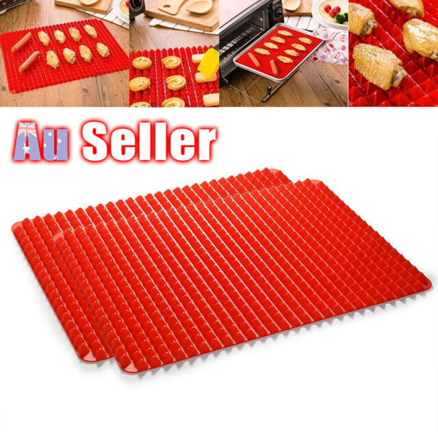 Non-stick Silicone Cook Baking Mat Pyramid Sheet Mould Oven Pan Liner Tray