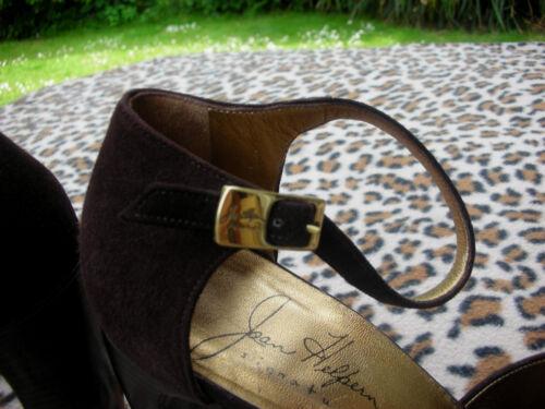 7 main Joan ᄄᄂ en Uk faites main en Italie Eu41 vintage Helpern cuir marron Chaussures 5 R3j4A5L