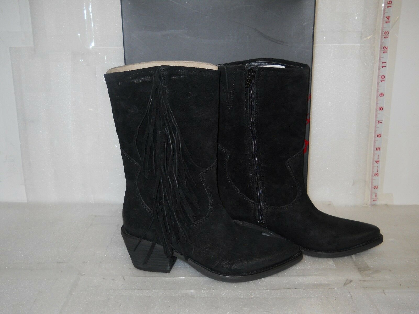 Carlos By Carlos Santana New Womens Lafayette Black Western Boots 6.5 M shoes