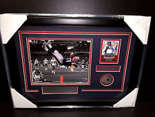ROB GRONKOWSKI AUTOGRAPHED SAGE AUTO FRAMED 8X10 PHOTO NEW ENGLAND PATRIOTS