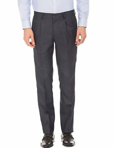 Mens Slim Pants Wedding Formal Casual Suit Business Dress Formal Trousers B649