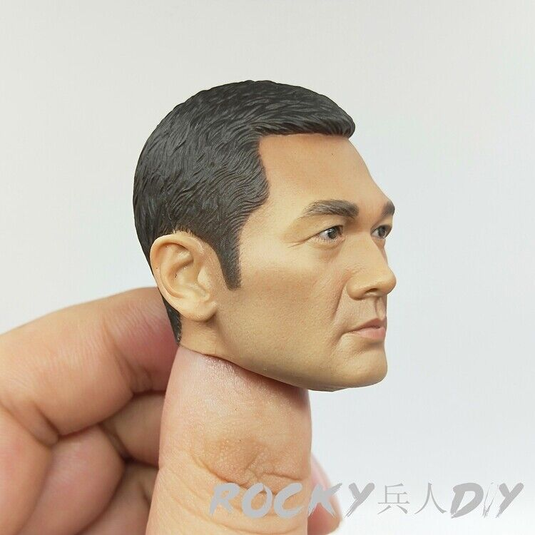 Head Sculpt for ZCWO Force Escort Group Zhong Sir 1 6 Scale Action Figure New