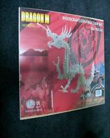 Woodcraft Construction Kit Dragon 3d Puzzle 1506