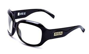 d017be2f84 La imagen se está cargando Msa-Milan-Gafas-De-Seguridad-Transparente-Lente -Negro-