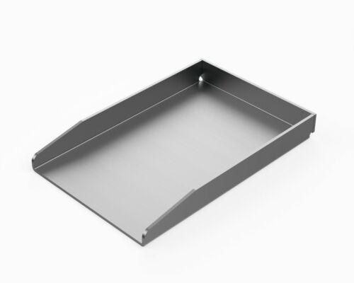 Matada in acciaio inox grill piastra massicciamente i BBQ PLANCHA 20 x 30cm-Universal dimensioni